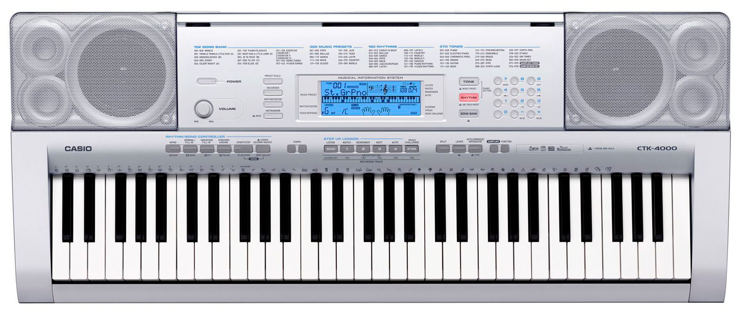 casio keyboard instruction manual ctk 4000