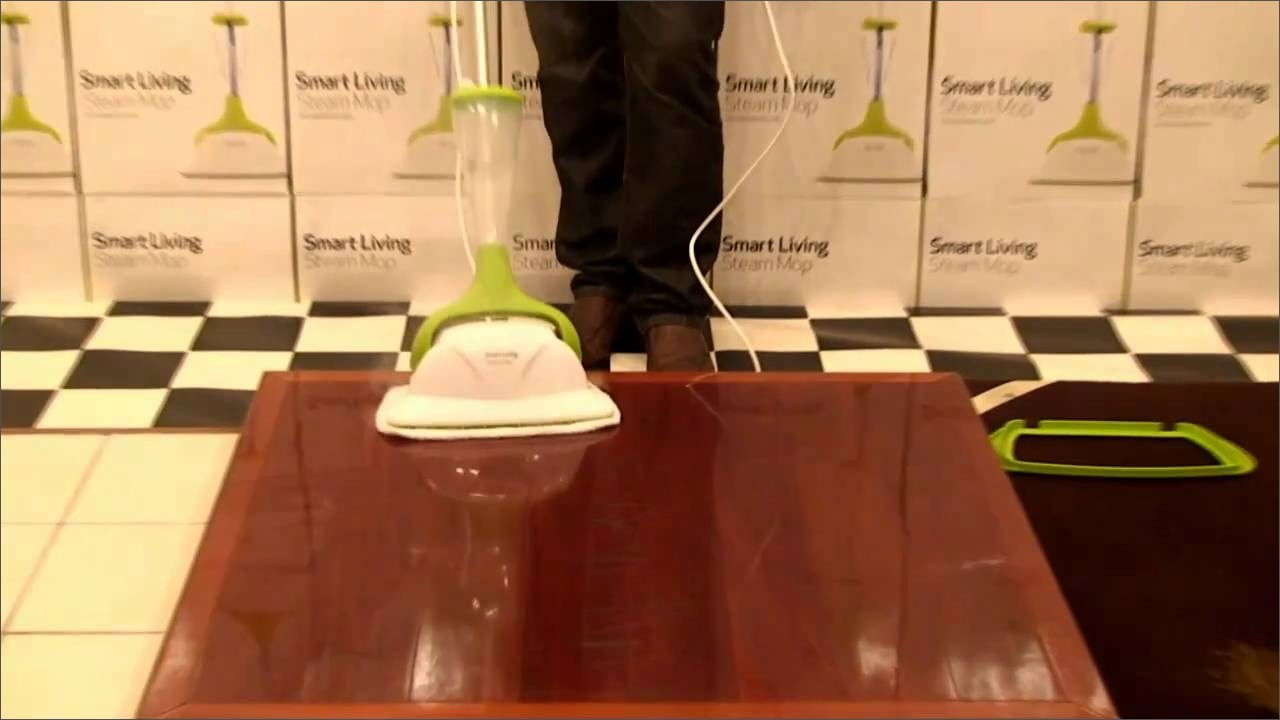 smart living steam mop carpet instructions