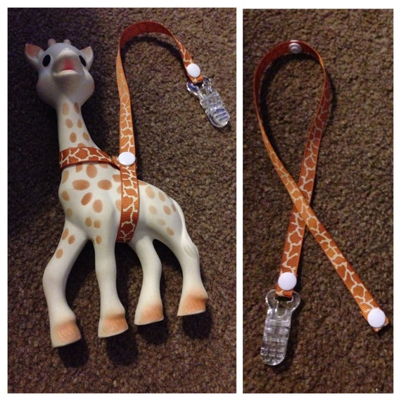 sophie the giraffe harness instructions