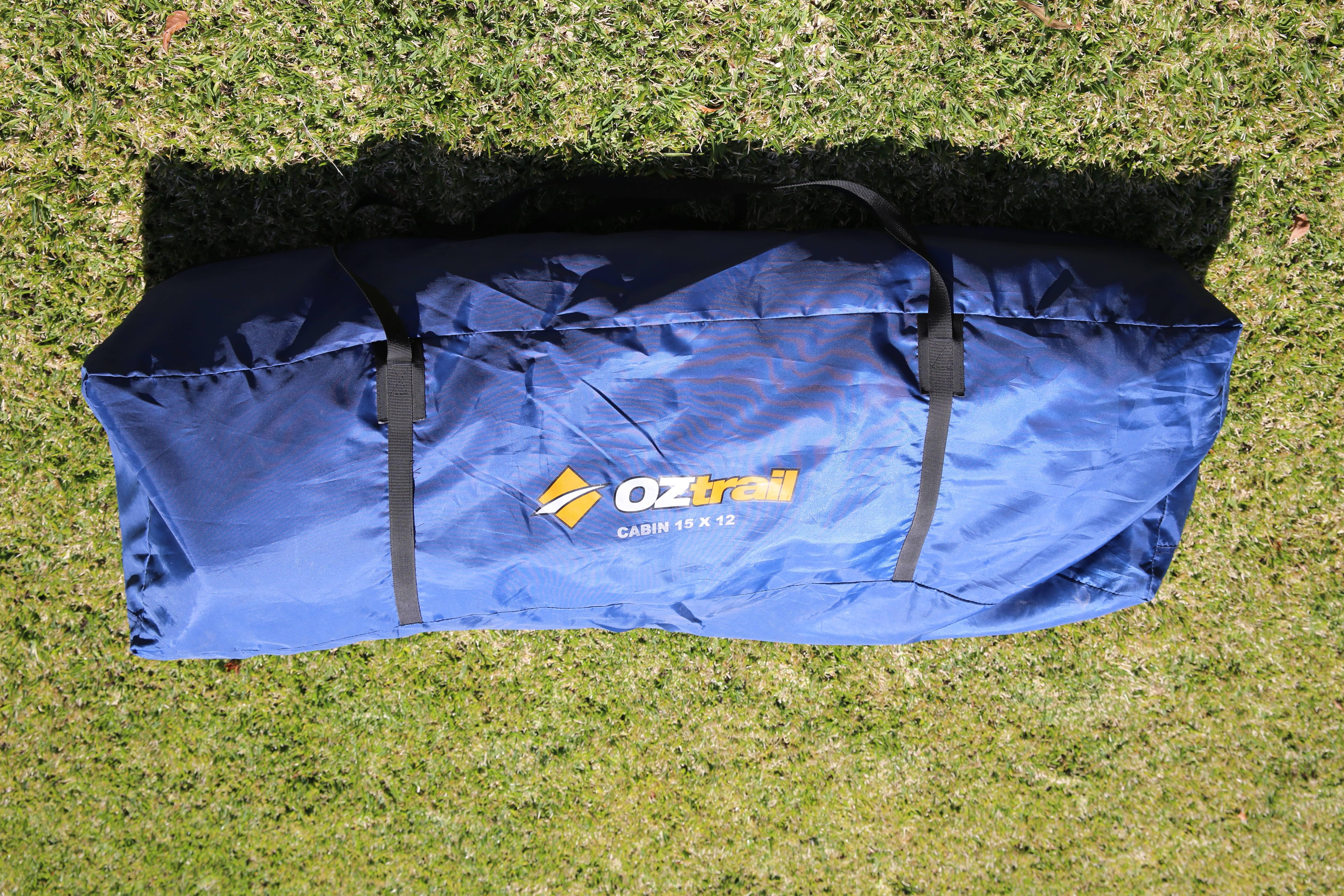 oztrail canvas tent instructions