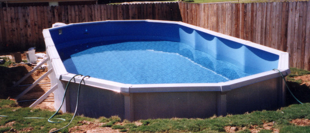 doughboy above ground pool installation instructions