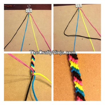 how to make a friendship bracelet step by step instructions