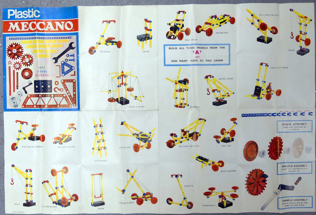 vintage meccano model instructions