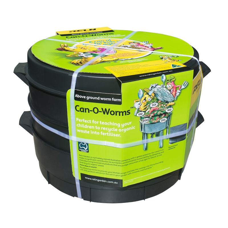 instructions for reln can o worms worm farm