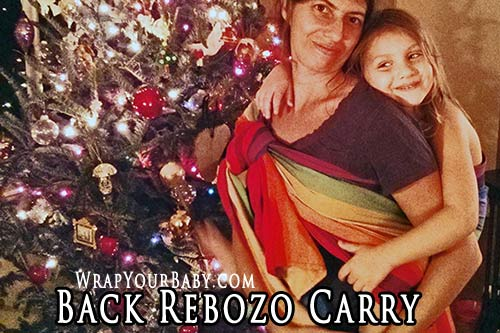woven wrap back carry instructions