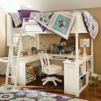 chelsea vanity loft bed instructions