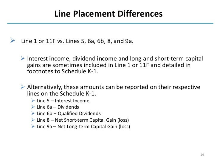 dividend and interest schedule instructions