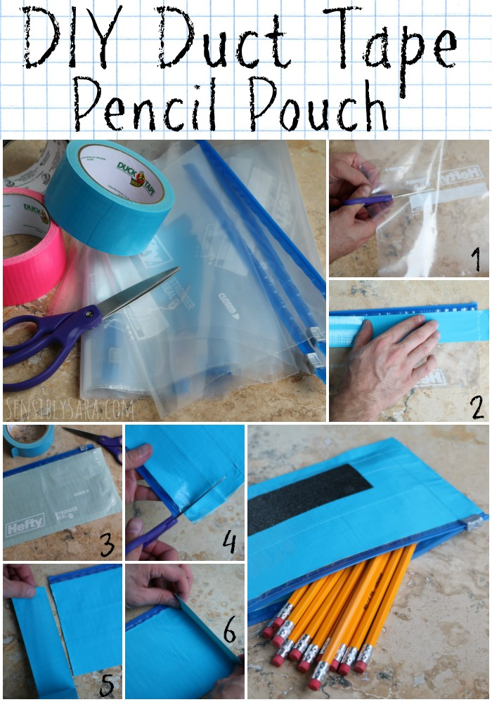 duct tape picture frame instructions