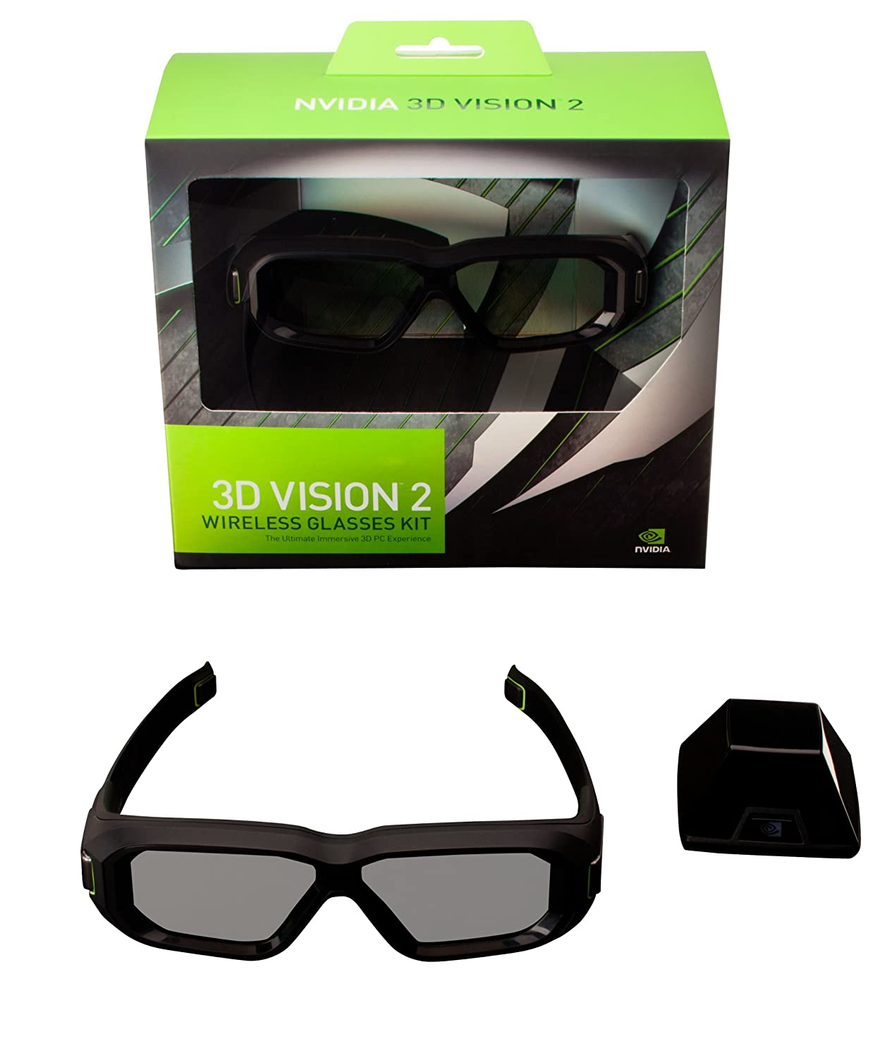 nvidia 3d vision 2 glasses instructions