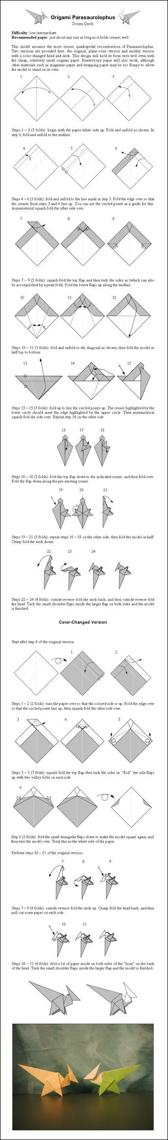 origami eagle instructions pdf