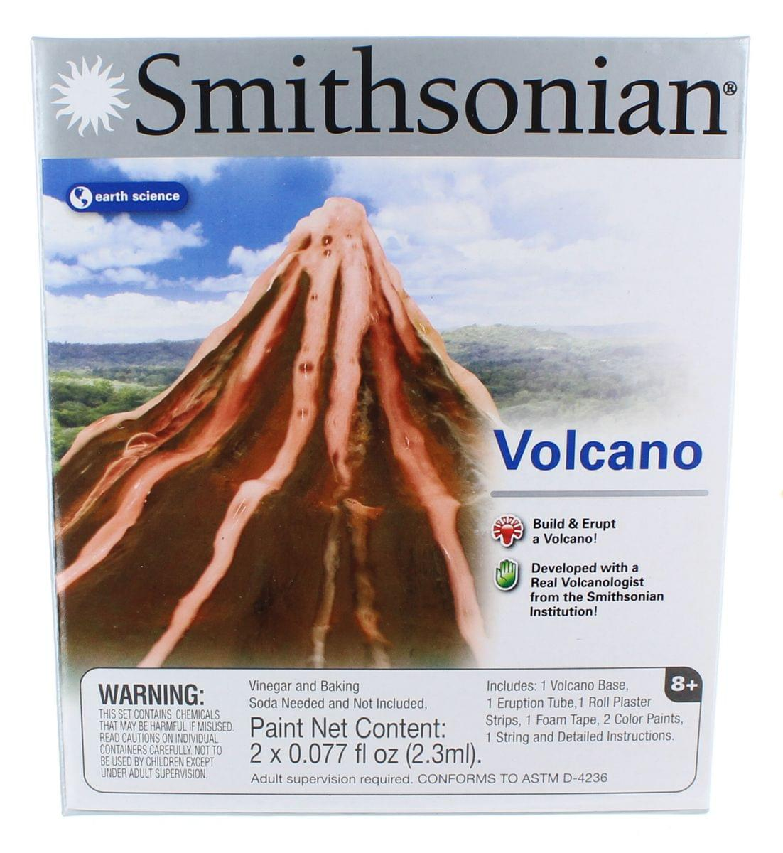 build a volcano instructions