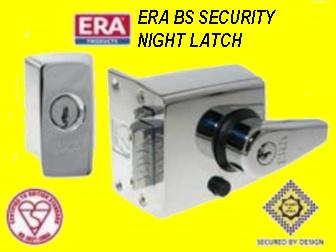 era night latch fitting instructions