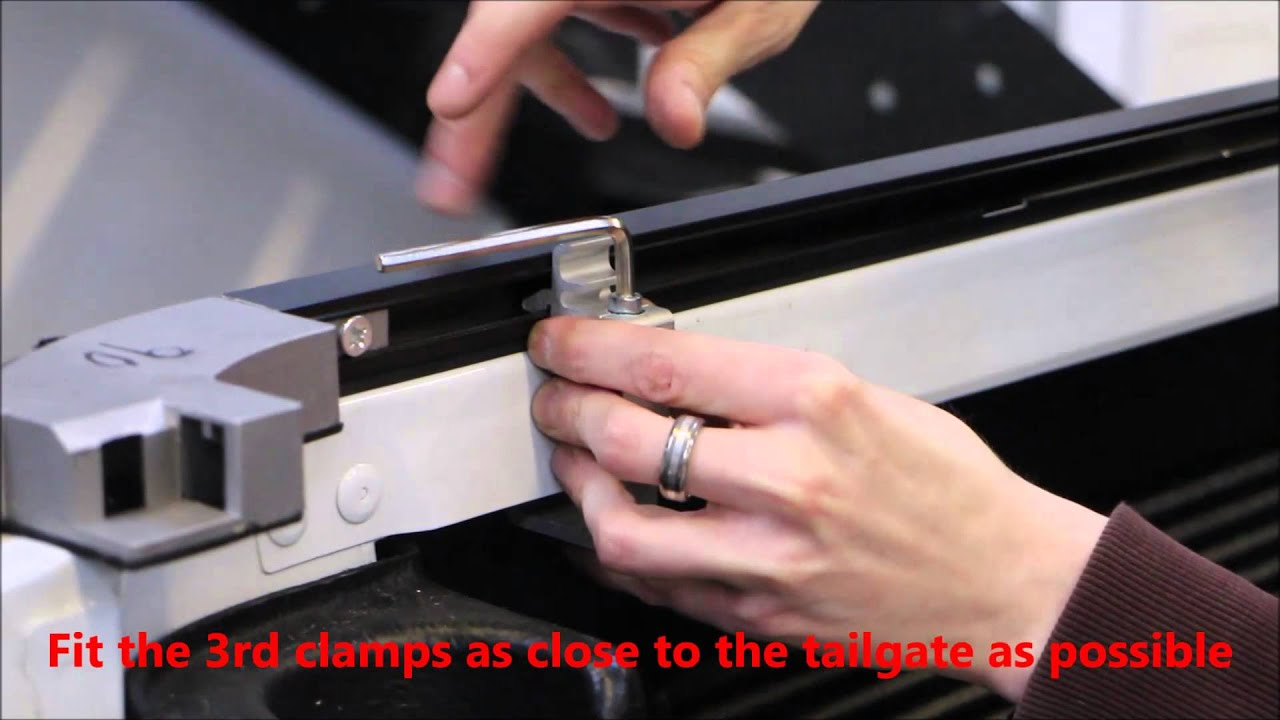 amarok tonneau cover fitting instructions