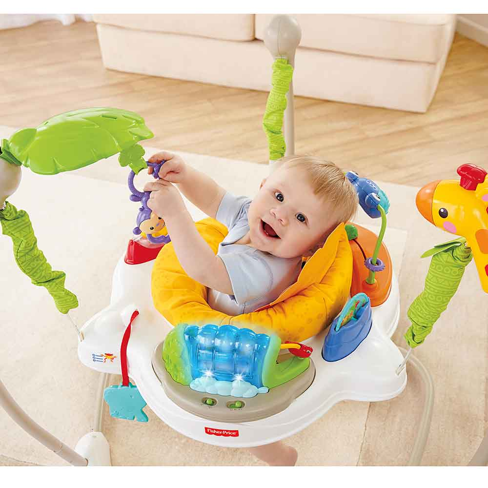fisher price discover n grow jumperoo instructions