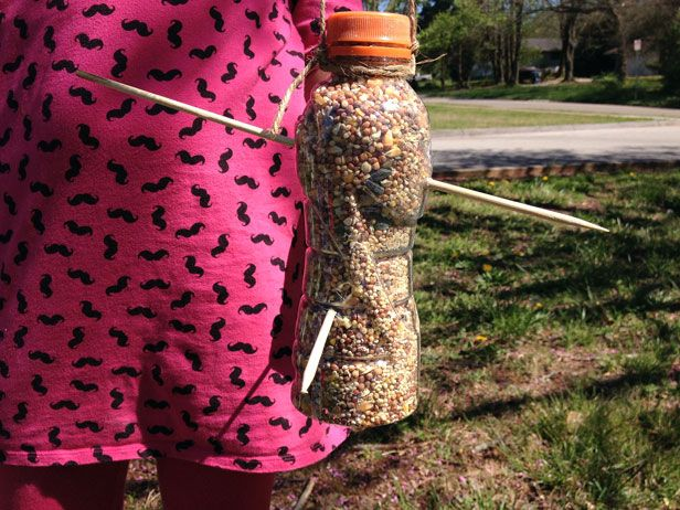 recycled bird feeder instructions