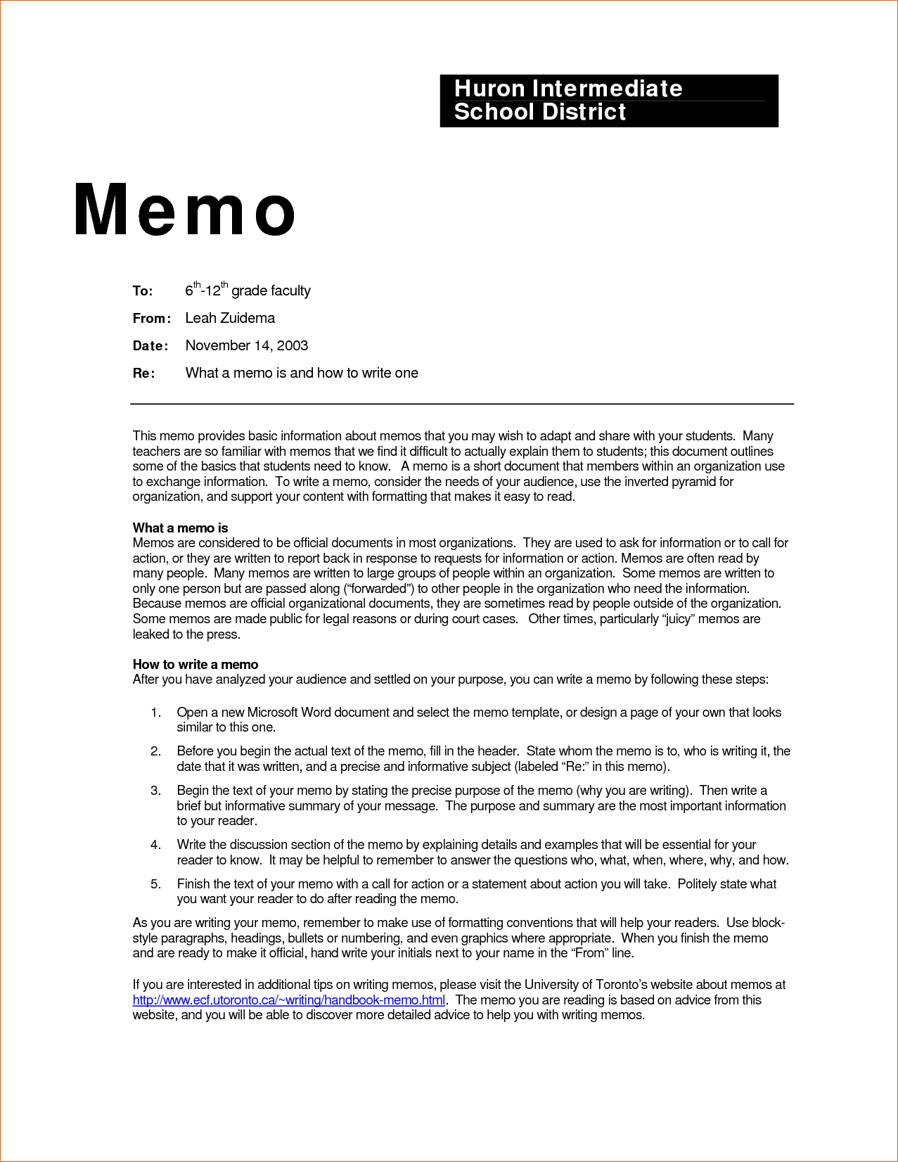 template for writing operating work instructions