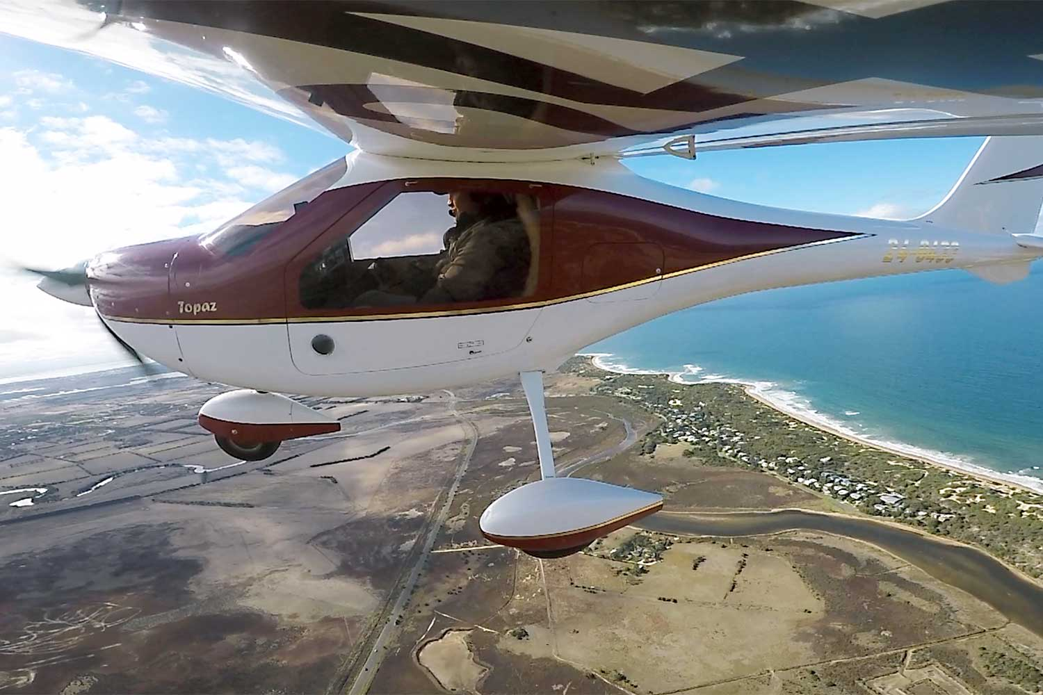 45-minute instructional flight experience