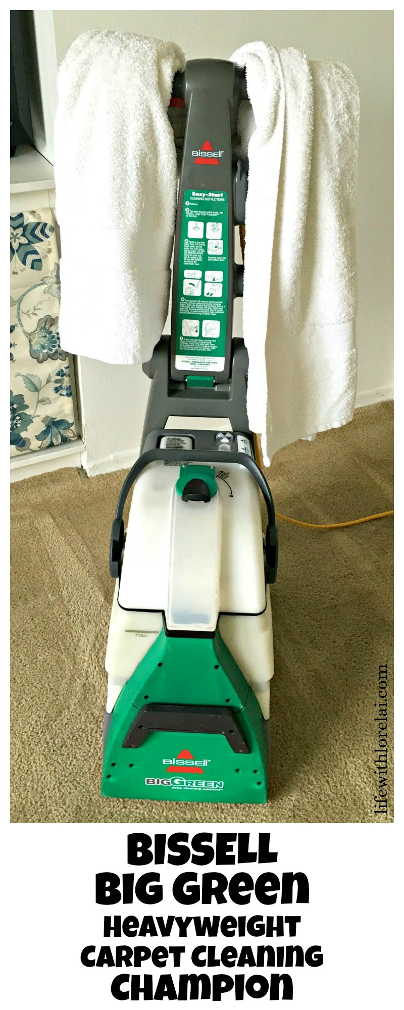 the green machine carpet cleaner instructions