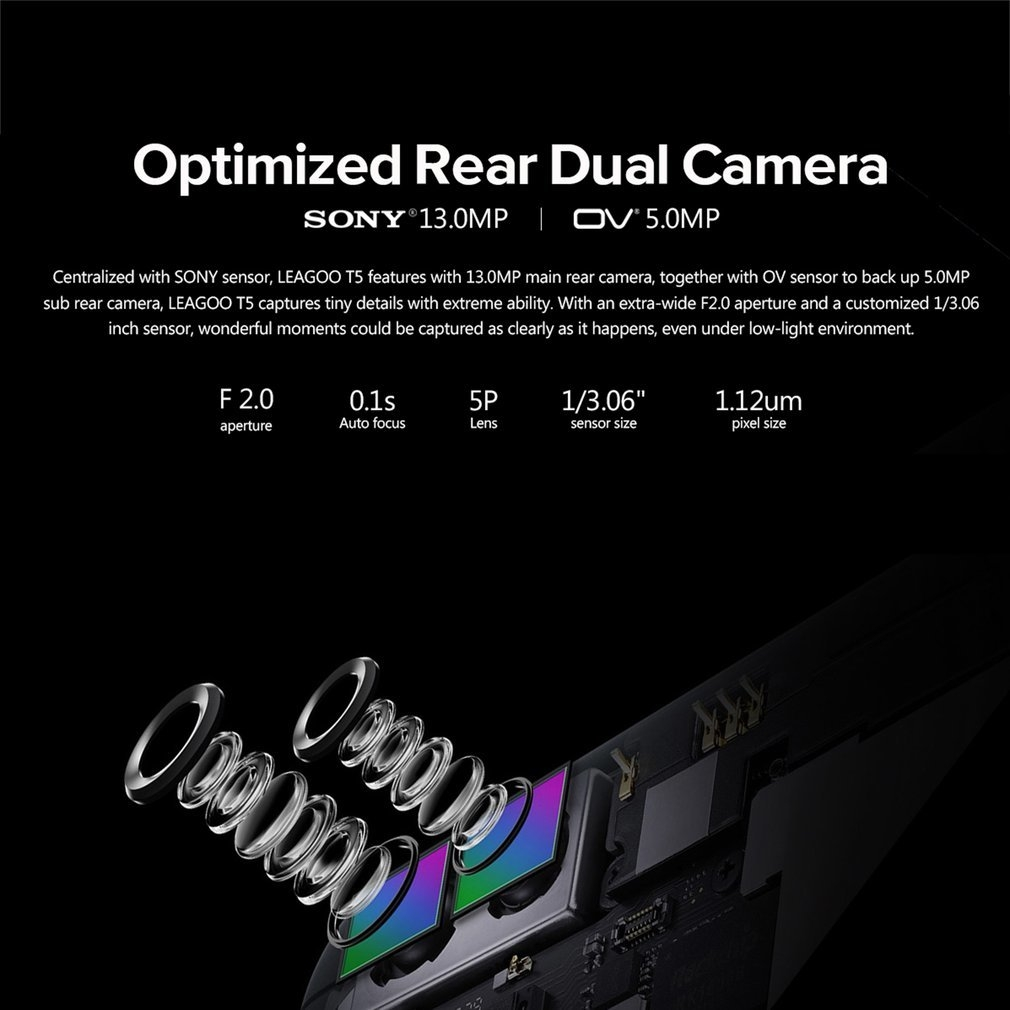 leagoo t5 dual camera instructions