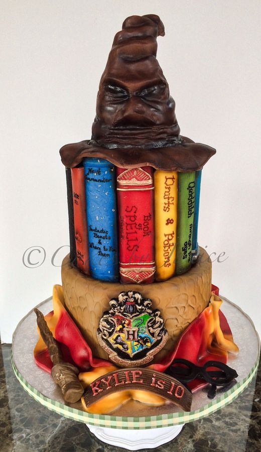 harry potter castle cake decorating kit instructions
