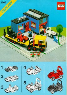 lego town plan 10184 instructions