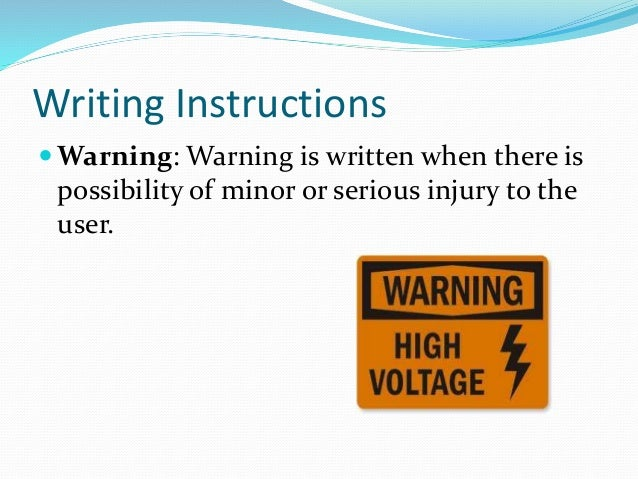 pre writing verbal instructions