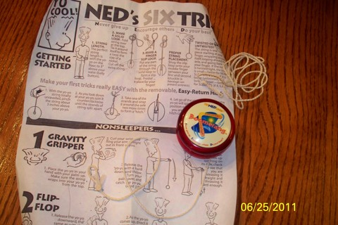 ned show boomerang yoyo instructions
