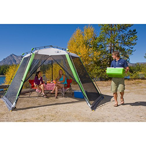 coleman 12x10 instant screened canopy instructions