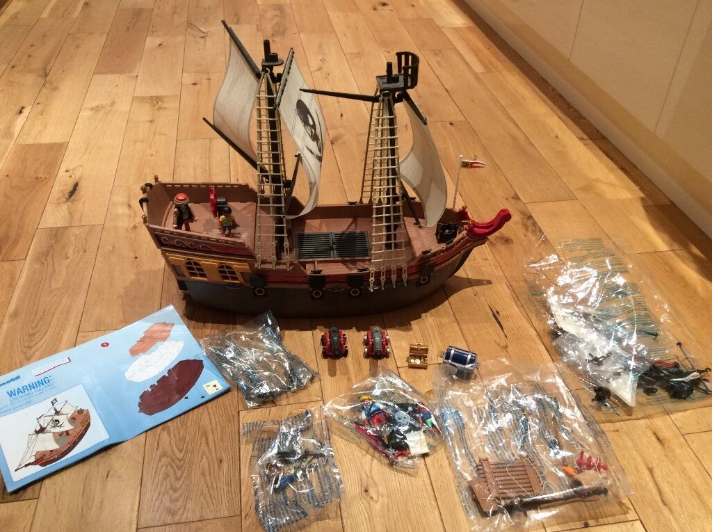 playmobil pirate treasure chest instructions