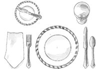 instructions to extend jovie table setting