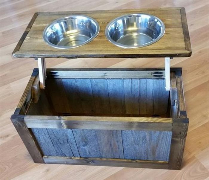 dog bed made out of pallets instructions