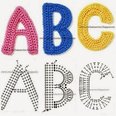 crochet by numbers free instructions