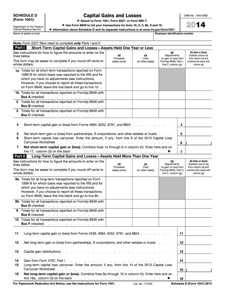 form 1041 schedule i instructions