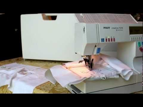 pfaff creative 7550 sewing machine instructions