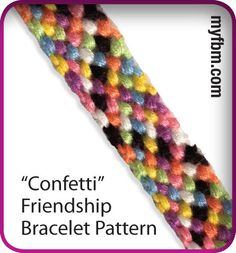 embroidery thread bracelet instructions