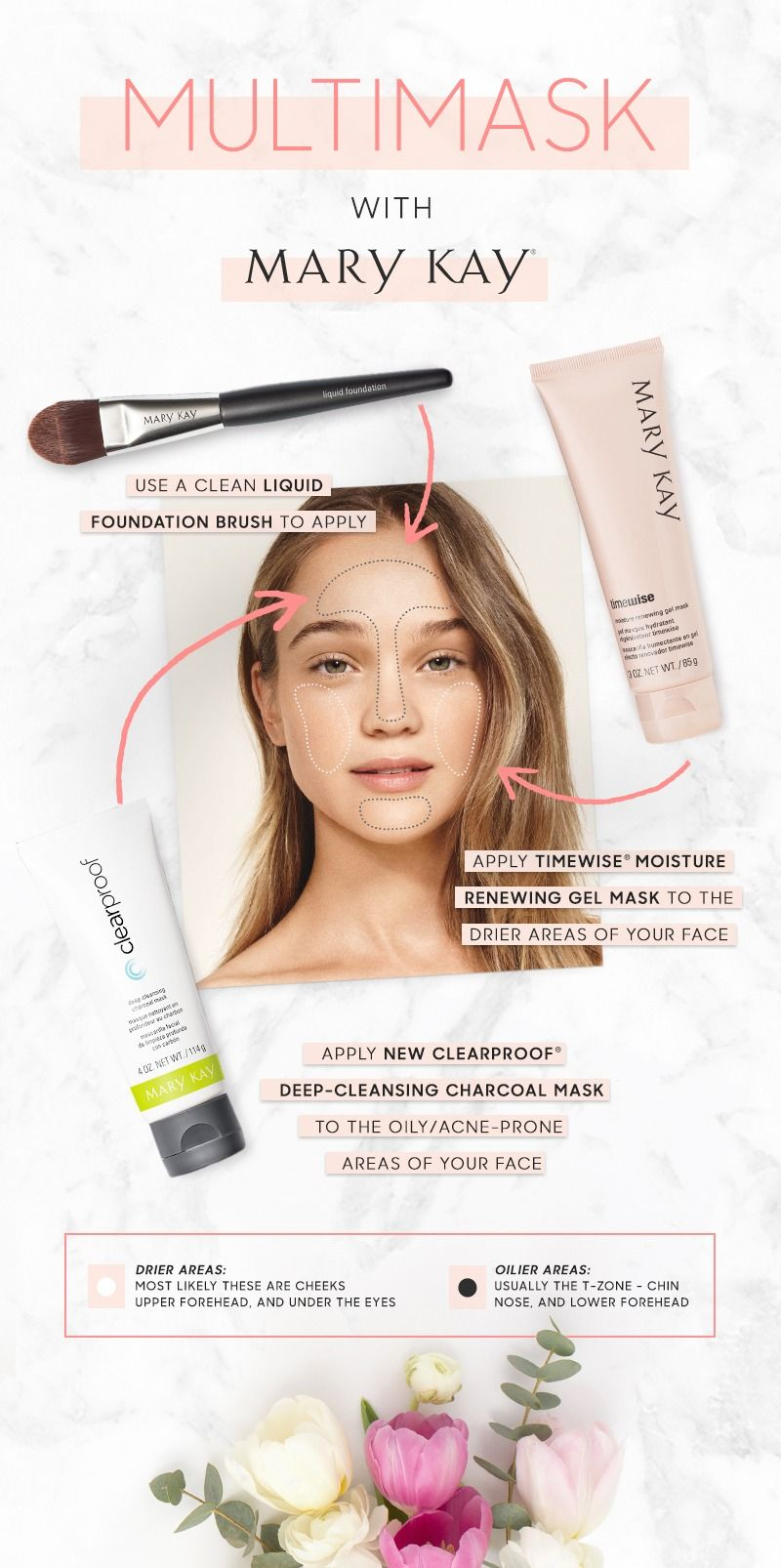 mary kay clear proof charcoal mask instructions