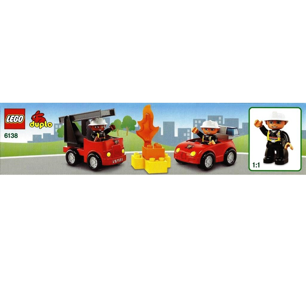 lego duplo fire station instructions 6138