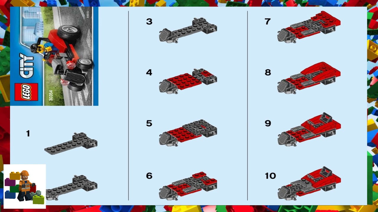 brows lego instruction manuals