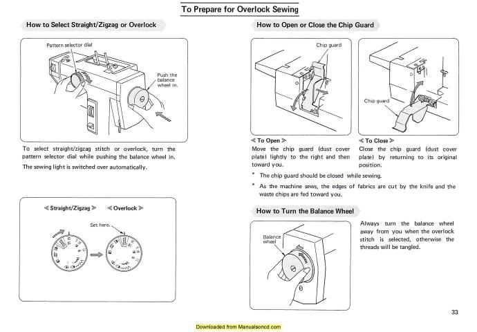 janome combi dx free operating instructions