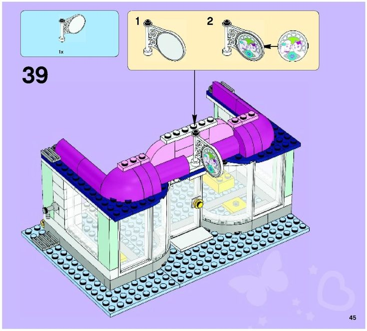 lego friends stble instructions