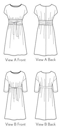 ironing instructions for fusible facing for dresses
