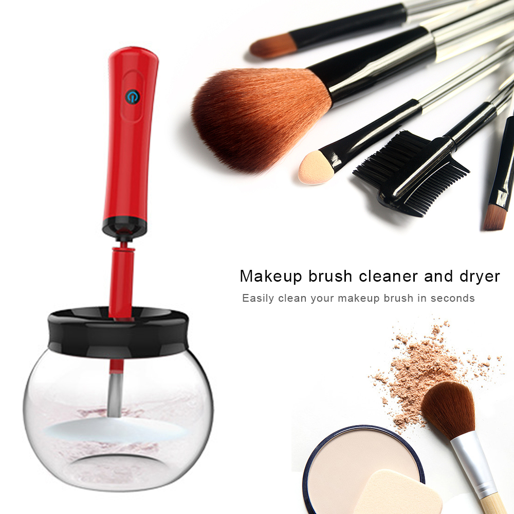 makeup brush cleaner and dryer instructions