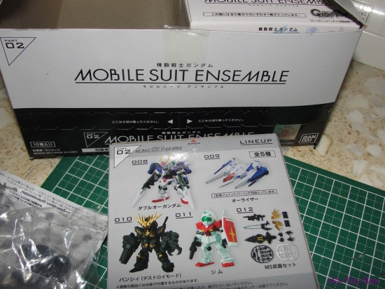 gashapon gundam with sword instructions