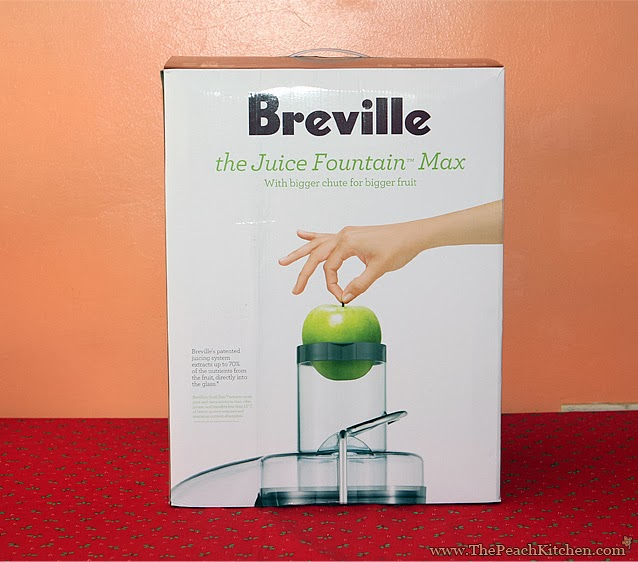 breville juice fountain operating instructions