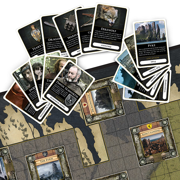 game of thrones clue instructions