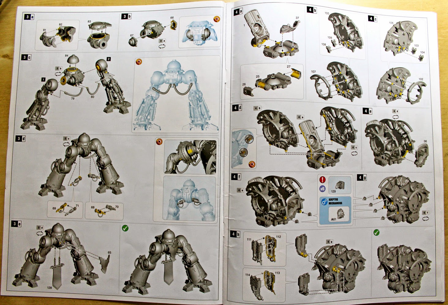 building instructions for armiger
