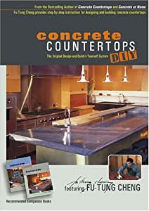 concrete countertops diy instructional dvd
