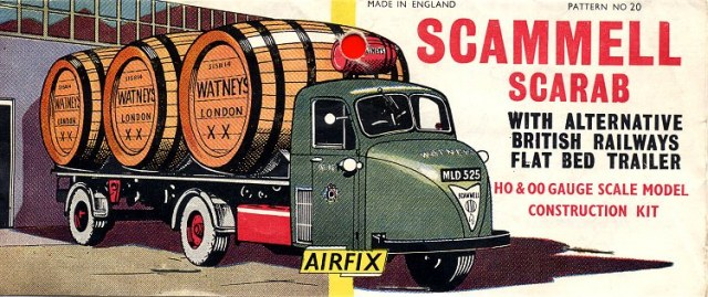 airfix scammell scarab instructions