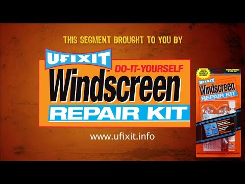 ufixit windscreen repair kit instructions