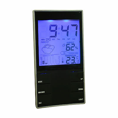 auriol radio controlled weather station instructions